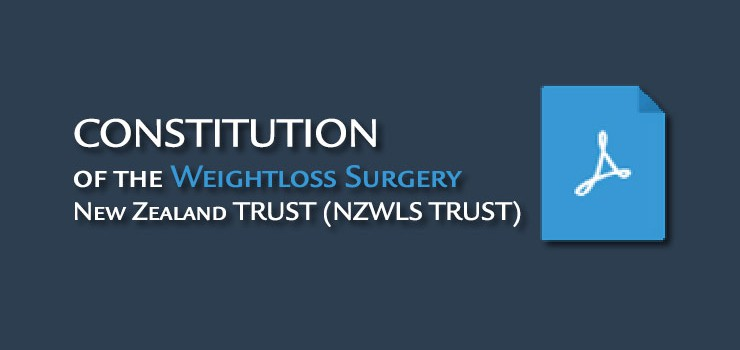 Constitution of the Weightloss Surgery